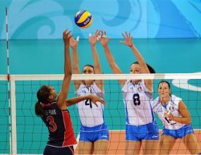 САЩ надделя над европейския шампион Италия с 3:2
