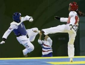 У Цзинюи стана олимпийска шампионка по таекуондо в категория до 49 кг