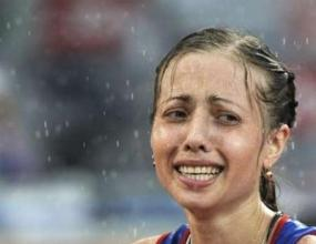 Рускинята Олга Канискина спечели злато в спортното ходене на 20 км