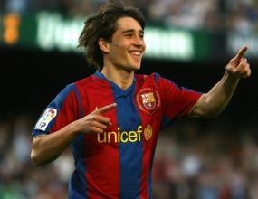 Боян Къркич подписва първи професионален договор с Барселона