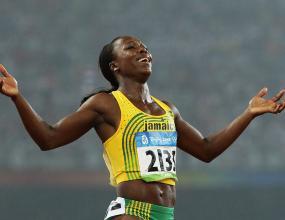 Ямайка смачка САЩ и на 200 м при жените, Вероника Кембъл триумфира като шампионка