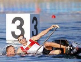 Сребърен медалист от двуместното кану приет в болница
