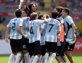 Аржентина отново олимпийски шампион след фамозен гол