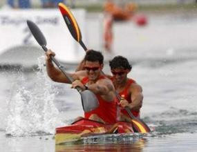 Испанци спечелиха олимпийската титла на 500 метра двуместен каяк