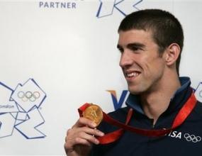 Фелпс с най- много медали от игрите в Пекин