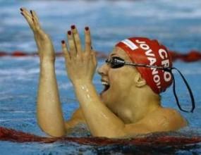 Саня Йованович постави нов световен рекорд на 50 метра гръб
