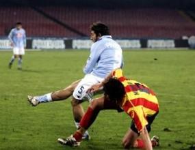 Пациенца празнува първия си гол в Серия А
