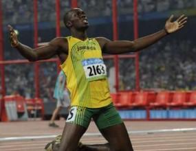 Болт погва рекорда на 400 метра през 2010 година