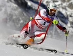 Австриец най-бърз първия манш на слалома, Стефан Георгиев ще стартира и във втория