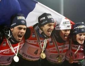 Франция спечели златния медал в смесената щафета