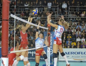 """Резултати от волейболната Шампионска лига """"Индезит"""" при жените"""