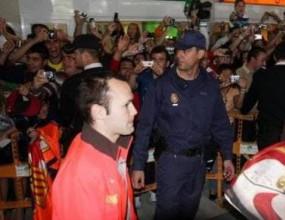 В Алмерия полудяха по футболистите на Барса