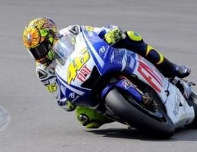 Валентино Роси с пол-позишън в Гран при на Великобритания