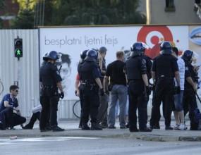 Феновете на Динамо (Загреб) откриха сезона с масов бой