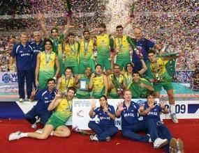 Бразилия триумфира с титлата от Световната лига след супердрама и 3:2 срещу Сърбия