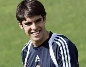 Кака с първа тренировка за Реал