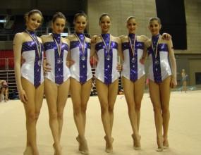 България и Швейцария с двустранна игра по художествена гимнастика