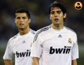 Кака и Роналдо доволни от дебюта си с бялата фланелка
