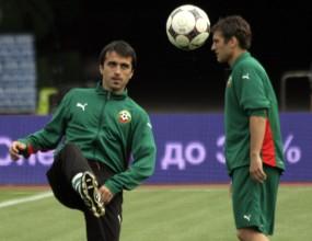 Миланов и Телкийски тренират отделно