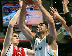 Литва нанесе първа загуба на световния шампион Испания