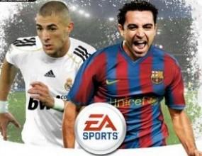 "Чави срещу Бензема на ""ФИФА 10"""