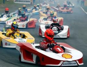 Пикет ще кара в картинг състезание на Маса