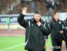 Пенев: ЦСКА налучка верния път, прибавихме една точка