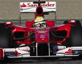 Ферари и Маса отново недостижими във Валенсия