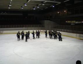 Грозни сцени белязаха края на първенството по хокей на България
