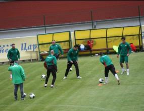 14 национали започнаха подготовка за Белгия