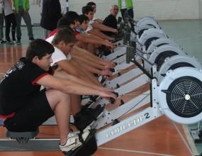 Кметът на Варна показа умения на гребен ергометър