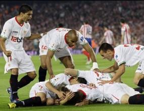 Севиля приземи Атлетико и спечели Купата на Краля (видео)