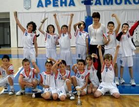 БУБА Баскет спечели шампионата при 10-годишните