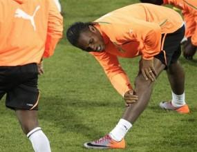 Дрогба пропусна днешната тренировка на Кот д'Ивоар