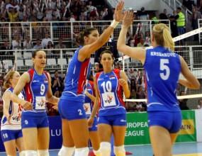 Сърбия с втора категорична победа над Великобритания в женската Европейска лига