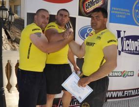 Румънец прибра наградите в третия кръг на Армрестлинг лигата