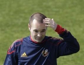 Иниеста готов за първия мач на Испания