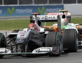 Шумахер: Спуканата гума предреши състезанието ми