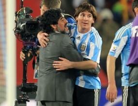 Меси: Марадона ни вдъхновява и подкрепя