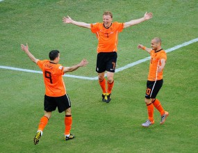 Куриозен автогол окрили Холандия за успешен старт на Мондиала (видео)