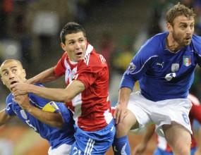 Де Роси пое вината за гола на Парагвай
