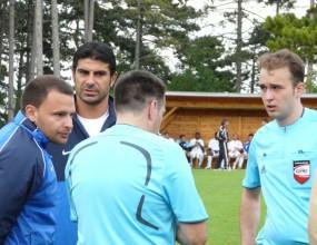 Гонзо извади Левски на полувремето и прекрати контролата с Аполон при 0:1 (ексклузивно видео)