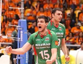 България в зелено и бяло срещу Бразилия