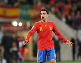 Чави бе избран за играч на мача между Германия и Испания