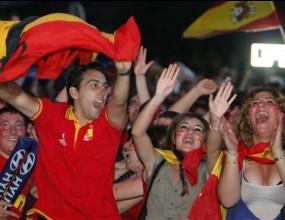 Неописуема радост заля Испания след класирането на финала на световното
