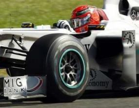 Шумахер доволен от подобренията по болида