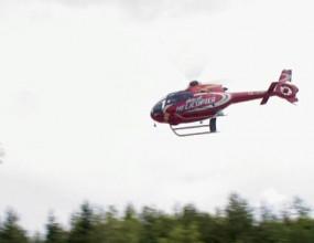 """Вижте как хеликоптер разпръсква фенове на Рали """"България"""" (видео)"""