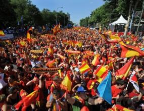 Арестуваха 260 запалянковци в Мадрид