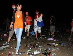 Десетки холандци задържани за хулигански прояви