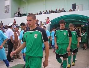Чавдар (БС) представя отбора срещу Левски